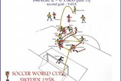 Brazil 2 x 0 URSS  - 2ºgol